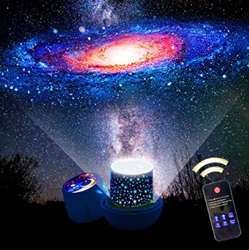 Star Night Lights for Kids, Remote Control Star Projector, with LED Timer, 360 Degree Rotating Planet Night Lighting Lamps Sky Galaxy Constellation Projection for Baby Bedrooms (Remote Flim-7 Set)