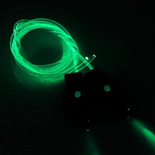 DIRECTGLOW LLC Green LED Light Up Flashing Shoelaces + Extra Batteries