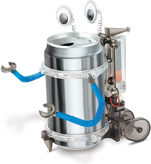 4M Tin Can Robot - DIY Science Construction Stem Toy For Kids & Teens