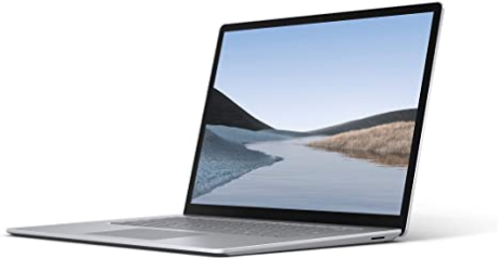 """Microsoft V9R-00001Surface Laptop 3 – 15"""" Touch-Screen – AMD Ryzen 5 Surface Edition - 16GB Memory - 256GB Solid State Drive – Platinum"""