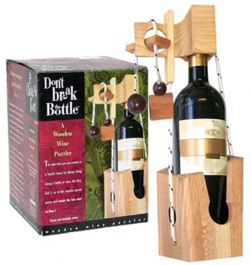 Don't Break the Bottle Original Puzzle Gift for Adults