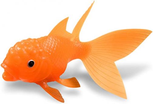 Genuine Fred KOI TOY Light-Up Bath Goldfish