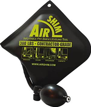 Calculated Industries #1190 Air Shim Inflatable Pry Bar and Leveling Tool; 300 LB Rating; Contractor-Grade Alignment Pump Wedge