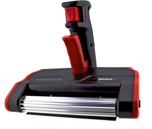 SKINZIT Electric Fish Skinner, 7.25 x 6 x 7.45-Inch, Black/Red