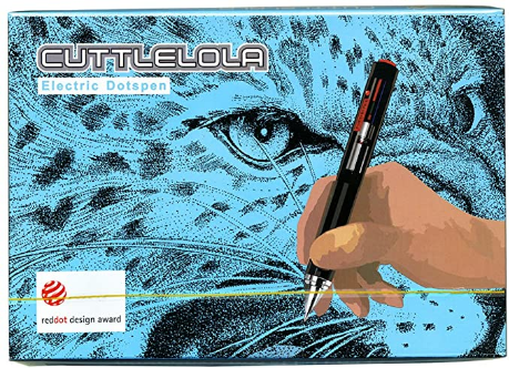 Cuttlelola Dotspen World's First Electric Drawing Pen for Illustration,stippling,manga
