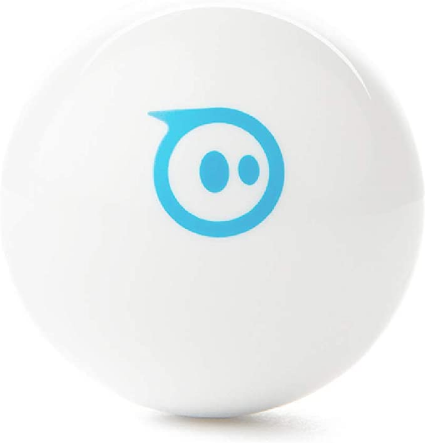 Sphero Mini (White) App-Enabled Programmable Robot Ball - STEM Educational Toy for Kids Ages 8 & Up - Drive, Game & Code with Sphero Play & Edu App