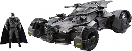 JUSTICE LEAGUE Ultimate JUSTICE LEAGUE BATMOBILE Vehicle + Figure