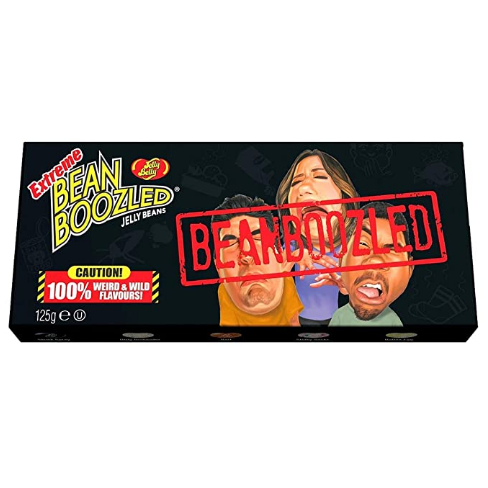 New Jelly Belly Extreme BeanBoozled Spinner Gift Box 4.25oz