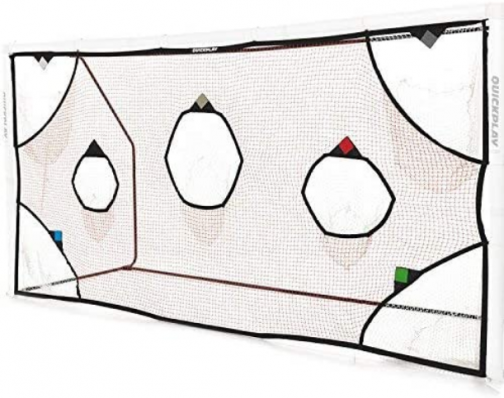 QUICKPLAY PRO Soccer Goal Target Nets with 7 Scoring Zones – Practice Shooting & Goal Shots. Soccer Goal Frame not Included.