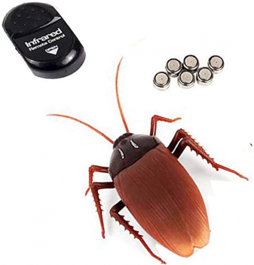 NiGHT LiONS TECH Emulational Remote Control cockroach RC Animal Toy Funny toy For April Fools' Day Halloween Christmas