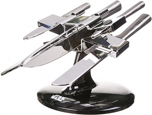 Star Wars X-Wing Knife Block - Kitchenware for Star Wars Fans - Includes 5 Knives