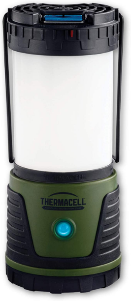 Thermacell Trailblazer Mosquito Repellent LED Camping Lantern; 300 Lumens Provide 50-Hour Runtime; Creates 15-Foot Zone of Protection from Mosquitoes; DEET-Free and Flameless; Best Camping Gear