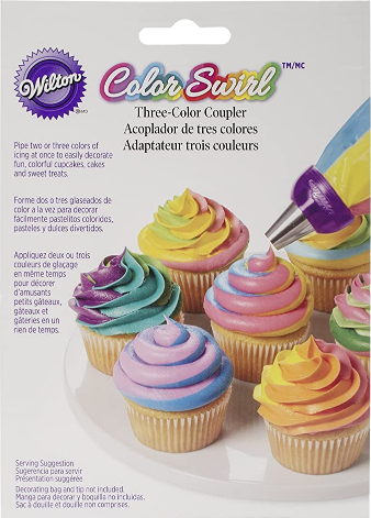 Wilton ColorSwirl 3 Color Coupler,