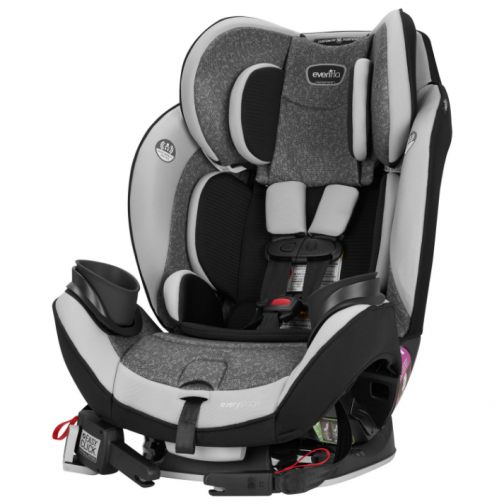 Evenflo EveryStage Deluxe Convertible 3-in-1 Car Seat - Latitude