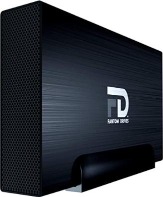 Fantom Drives 16TB External Hard Drive - USB 3.2 Gen 1-5Gbps - GForce 3 Aluminum - Black - Compatible with Mac/Windows/PS4/Xbox (GF3B16000U) by Fantom Drives