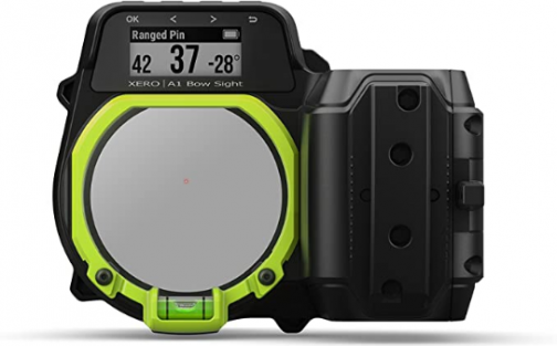 """Garmin Xero A1 Bow Sight, 2"""" Auto-Ranging Digital Bow Sight, LED Pins for Unobstructed Views, Right-Handed"""