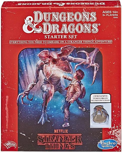 Hasbro Gaming Stranger Things Dungeons & Dragons Roleplaying Game Starter Set