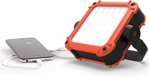Gear Aid Portable LED Light and Power Pack for Camping, Work, and Power Outages