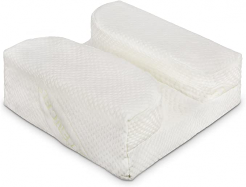 The LaySee Pillow - The Pillow Designed with Your Glasses in Mind - Pillow with Plush Pillow Case (White)