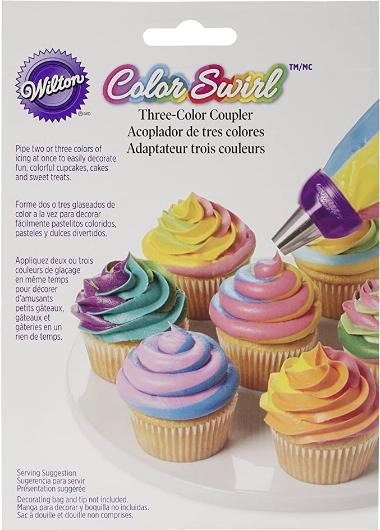 Wilton ColorSwirl 3 Color Coupler,