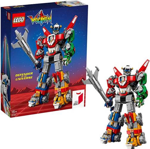 LEGO 21311 Ideas Voltron Legendary Defender Series 5 Buildable Lion Figures Exclusive to Amazon & LEGO
