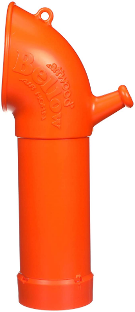 Attwood 2460-7 Bellow Signal Horn, Lung-Powered, Meets USCG Rule 33 (Annex III) and EPA Regulations, 8 Inches H x 3 ½ Inches W