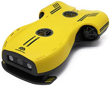 Nemo Underwater Drone with 4K UHD Camera and LED Fill Light, Aquarobotman ROV Drones for Marine Video, Fish Finder, Fishing Camcorder, RC Submarine Robot Toy
