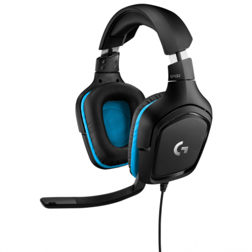 Logitech G432 Gaming Headset with Microphone - Black