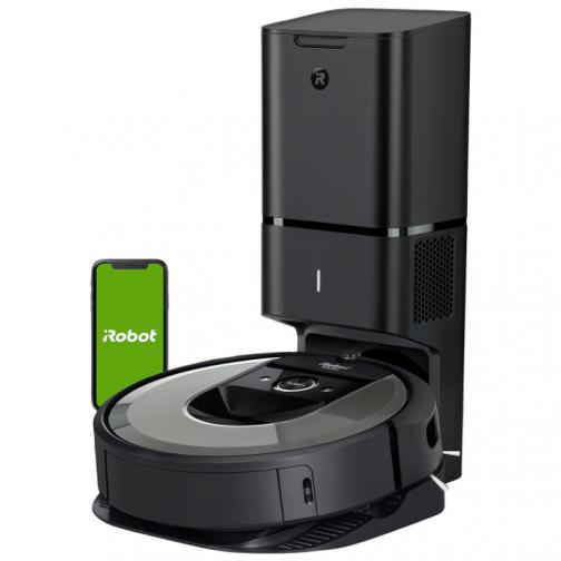 iRobot Roomba i8+ (Plus) Robot Vacuum - Medium Silver