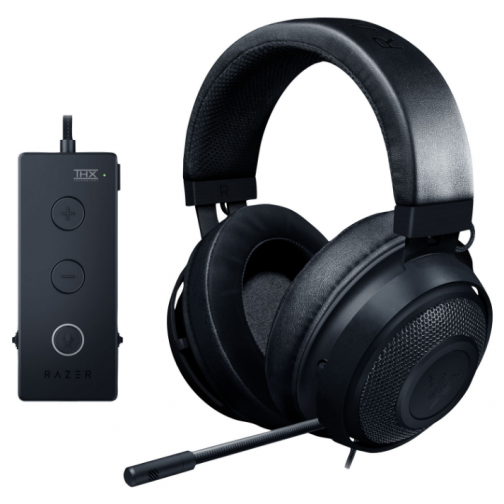 Razer Kraken Tournament Edition Gaming Headset with Microphone & USB Audio Controller - Black