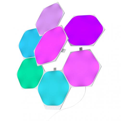 Nanoleaf Shapes Hexagon Light Panels - Smarter Kit - 7 Panels