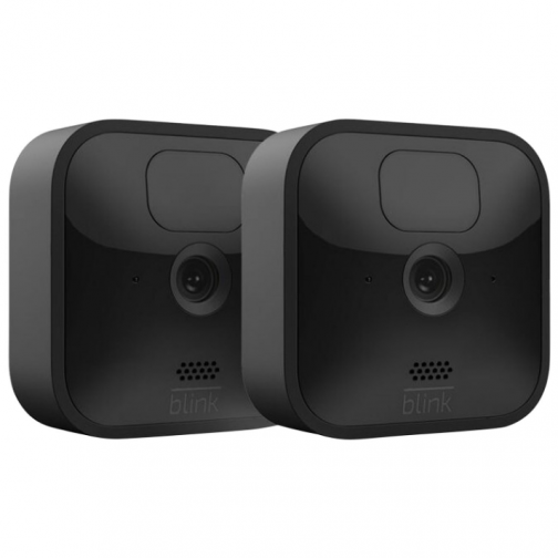 Blink Outdoor Wire-Free 1080p IP Security Camera System - 2-Pack - Black