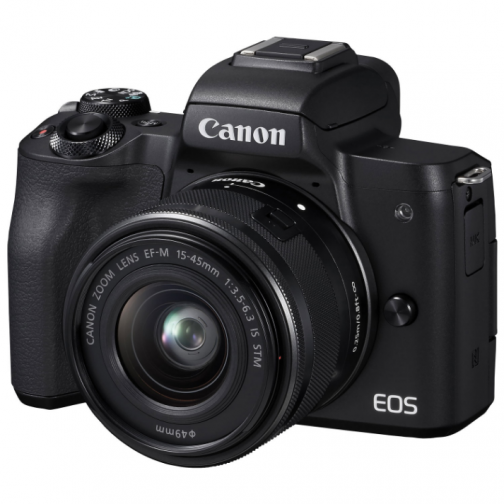 Canon EOS M50 Mirrorless Camera with 15-45mm Lens Kit