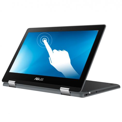"ASUS Flip C234 11.6"" Touchscreen 2-in-1 Chromebook (Intel Celeron N4020/64GB eMMC/4GB RAM/Chrome OS)"