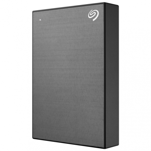 Seagate One Touch 1TB USB 3.0 Portable External Hard Drive (STKB1000404) - Grey