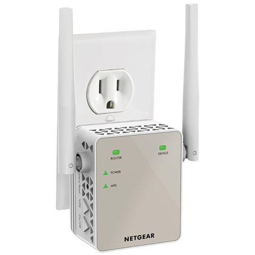 NETGEAR AC1200 Wi-Fi 5 Range Extender Essentials Edition (EX6120-100CNS)