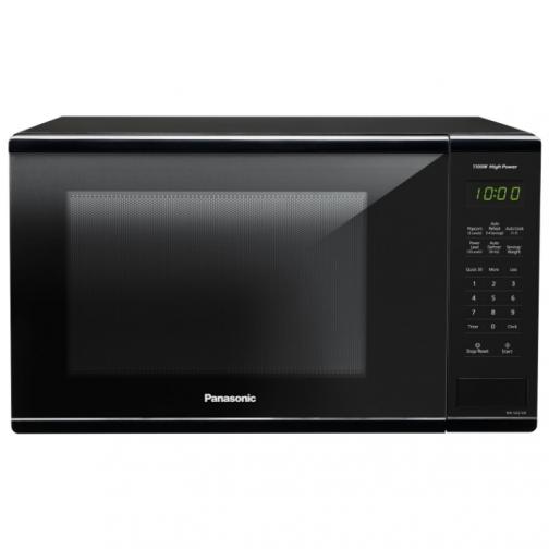 Panasonic 1.3 Cu. Ft. Microwave (NNSG616B) - Black - Only at Best Buy