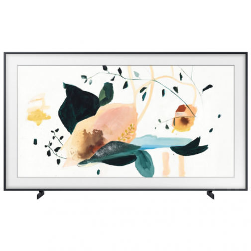 "Samsung The Frame 32"" FHD HDR QLED Tizen Smart TV (QN32LS03TBFXZC) - Neutral Grey"