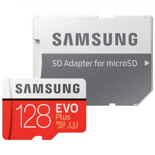 Samsung EVO Plus 128GB 100 MB/s microSDXC Memory Card