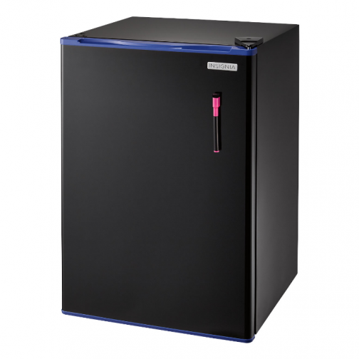 Insignia 2.6 Cu. Ft. Free-Standing Bar Fridge (NS-CF26BL7-C) - Black - Only at Best Buy