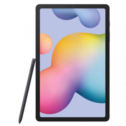 """Samsung Galaxy Tab S6 Lite 10.4"""" 128GB Android Tablet with Exynos 9611 8-Core Processor - Oxford Grey"""