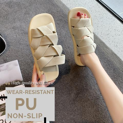 Elastic Braided Slippers (Free Shipping)