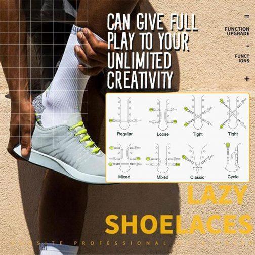Lazy Elastic Shoelaces