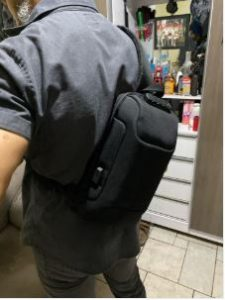 Anti-theft Backpack With 3-Digit Lock photo review