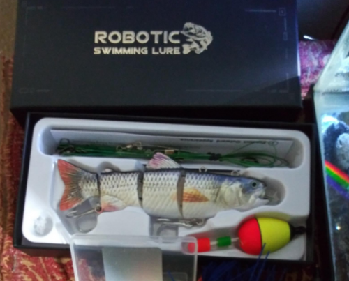 Autoswim Robot Lure photo review