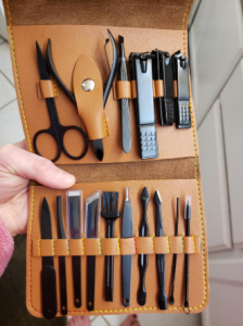 Stainless Steel Nail Clipper Kit photo review