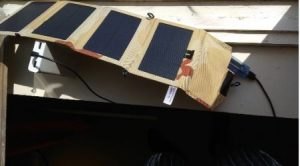 8W Portable Solar Panel Charger photo review